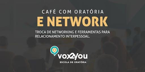 ORATÓRIA E COMUNICAÇÃO - CAFÉ COM NETWORK