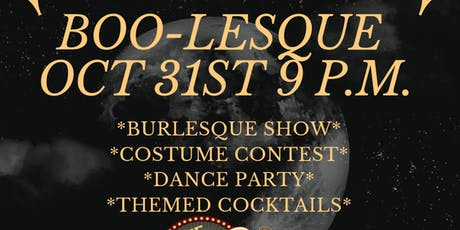 BOO-LESQUE HALLOWEEN BURLESQUE SHOW tickets
