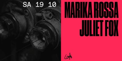 Marika Rossa & Juliet Fox im Loft Club