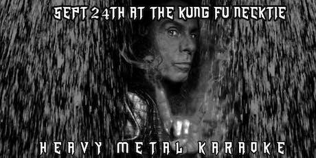 Heavy Metal Karaoke tickets