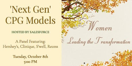 'Next Gen' CPG Models & The Women Leading the Transformation tickets