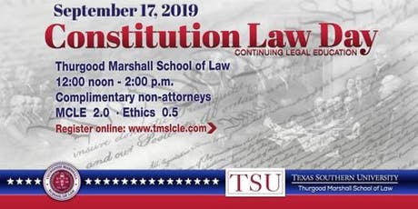 Constitution Law  CLE tickets