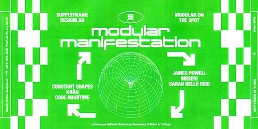 Modular Manifestation