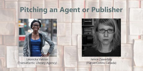 Pitching an Agent or Publisher tickets