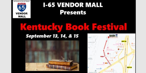 Kentucky Book Festival at I-65 Vendor Mall