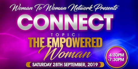Woman To Woman Connect tickets
