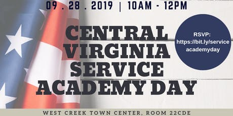 McEachin & Spanberger Central Virginia Service Academy Day tickets