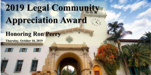 SBCBF Legal Community Appreciation Award