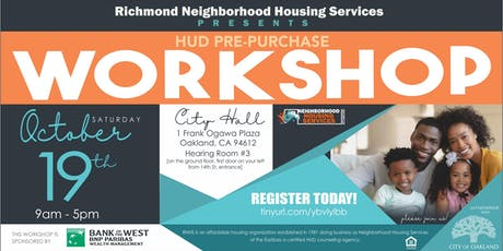 HUD Approved Pre-Purchase Workshop tickets