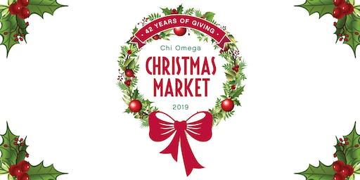 Chi Omega Christmas Market  - November 20 - 23, 2019