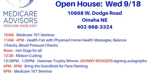 Medicare Advisors Open House & Education Week