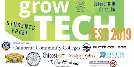 growTECH FEST 2019 - Oct 8-10 entradas