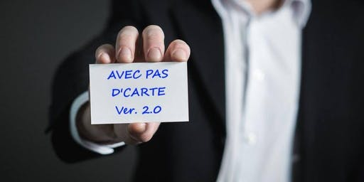 """Événements """"Avec pas d'carte"""" - 19 septembre 2019"""