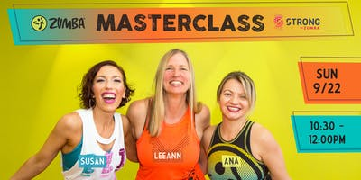 Zumba® + STRONG by Zumba® Masterclass w/Susan, LeeAnn, & Ana!