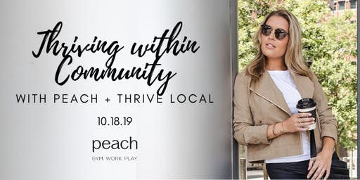 Thriving within Community