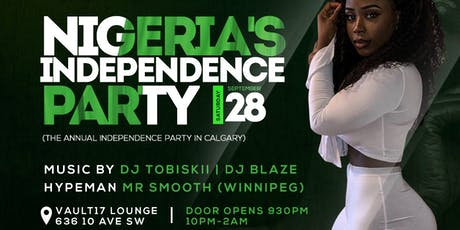 NIGERIA @ 59 INDEPENDENCE DAY PARTY CALGARY tickets