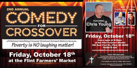 Comedy for Crossover tickets