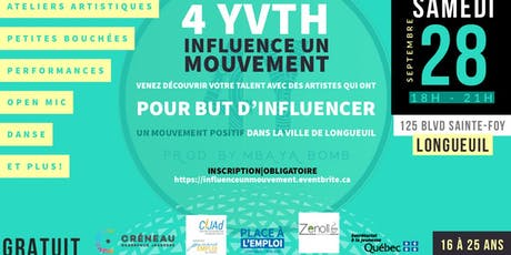 Influence Un Mouvement (ÉVÈNEMENT GRATUIT) tickets