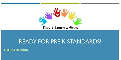 Ready for Pre K Standards! tickets