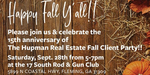 The Hupman Real Estate Group Fall Client Event