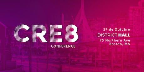 CRE8 Conference - Conferência de Brasileiros Criadores de Conteúdo nos EUA tickets