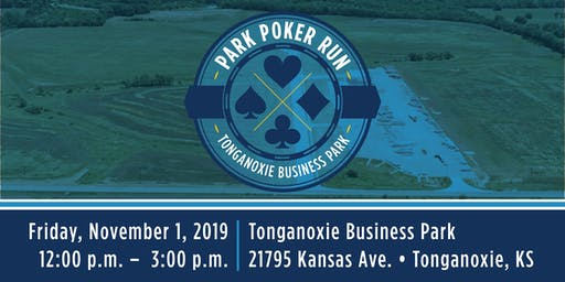 Park Poker Run at the Tonganoxie Business Park