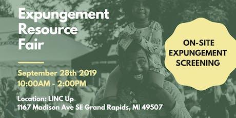 Expungement Resource Fair - Michigan tickets
