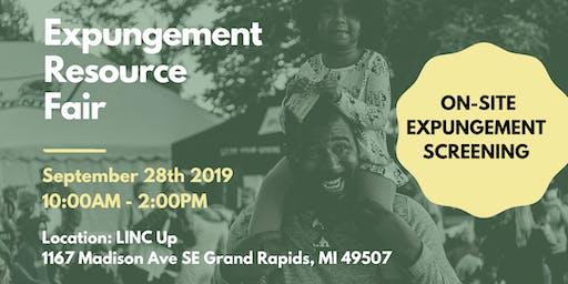 Expungement Resource Fair - Michigan