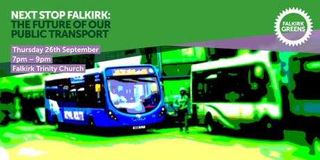Next Stop Falkirk: The Future of Falkirk's Public Transport tickets