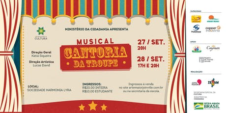 Musical Cantoria da Troupe tickets