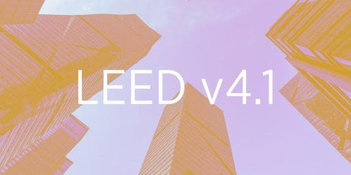 USGBC NCR LEED v4.1 Workshops
