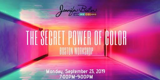 The Secret Power of Color Workshop