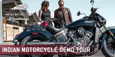 Indian Motorcycle Demo Tour