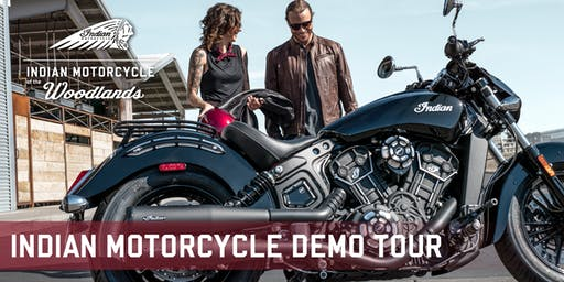 Indian Motorcycle Demo Tour