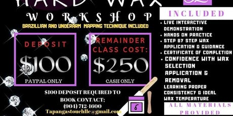Tapanga Hard Wax Workshop  tickets