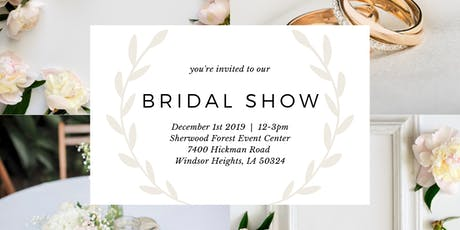 Sherwood Forest Event Center Bridal Show  tickets