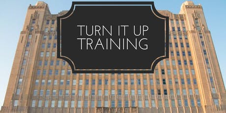 TURN IT UP Training tickets