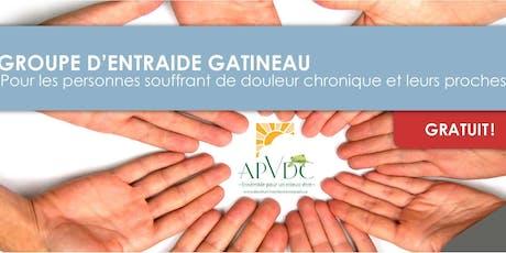 APVDC: Groupe d'entraide Gatineau 17 septembre billets
