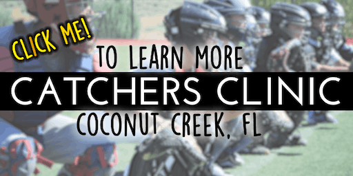Winter Baseball Camp: For Catchers!