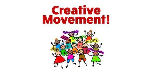 Creative Movement Sessions