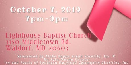 Breast Cancer Awareness Month - Early Detection Matters tickets