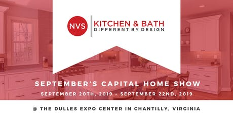 September Capital Home Show with NVS Kitchen and Bath tickets