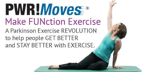 PWR! Moves Exercise Class - Parkinson's Wellness Recovery tickets