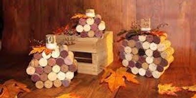 Craft & Sip (Wine Cork Pumpkins)