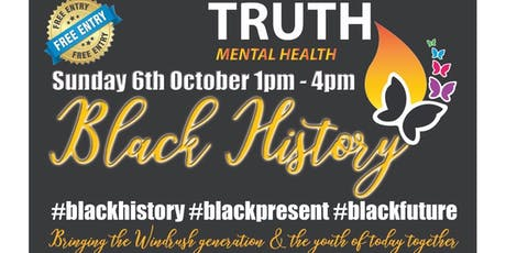TRUTH BLACK HISTORY EVENT tickets