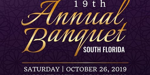 19th Annual S. Florida Banquet