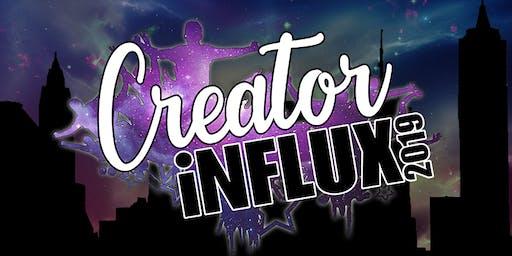 Creator Influx 2019