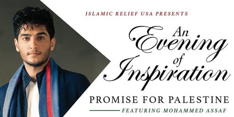 Mohammed Assaf- Promise for Palestine Benefit Banquet and Concert tickets