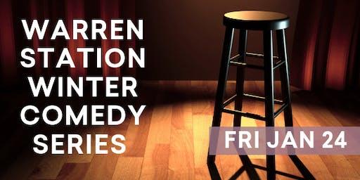 Warren Station Winter Comedy Series  with Sam Adams & Stephanie McHugh - January 24th, 2020