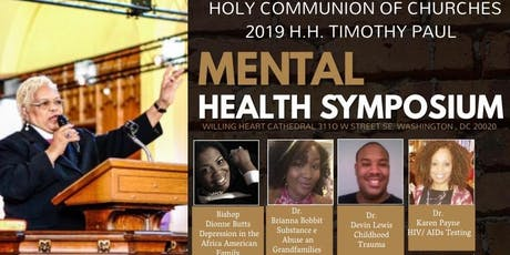 2019 Mental Health Symposium (Holy Communion of Churches) tickets
